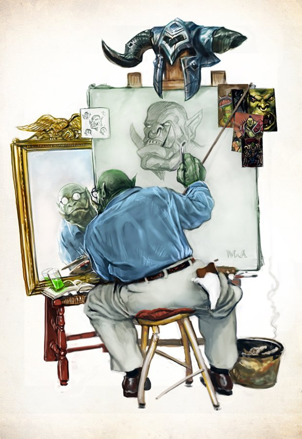 humorous-norman-rockwell-inspired-world-of-warcraft-art