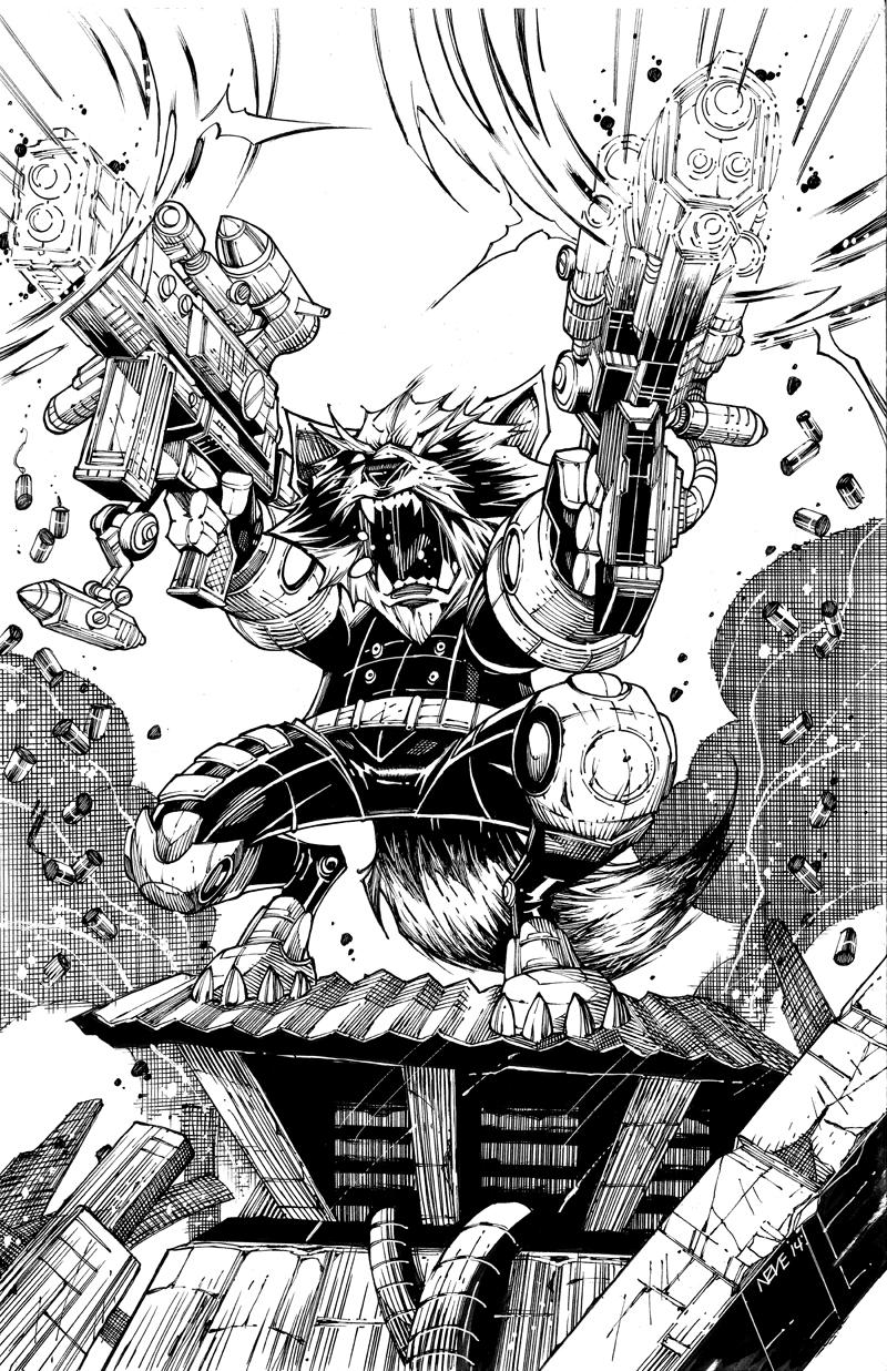 rabid-rocket-raccoon-art-for-guardians-of-the-galaxy