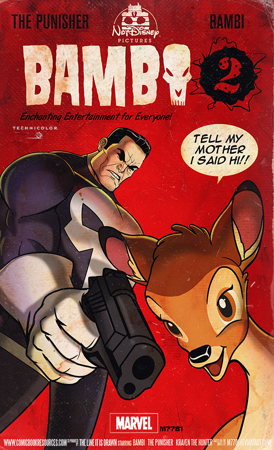the-punisher-teams-up-with-bambi-in-hilarious-mashup-art