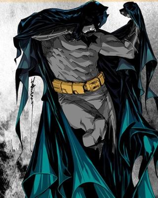 Striking BATMAN ETERNAL Cover Art by Dustin Nguyen ...