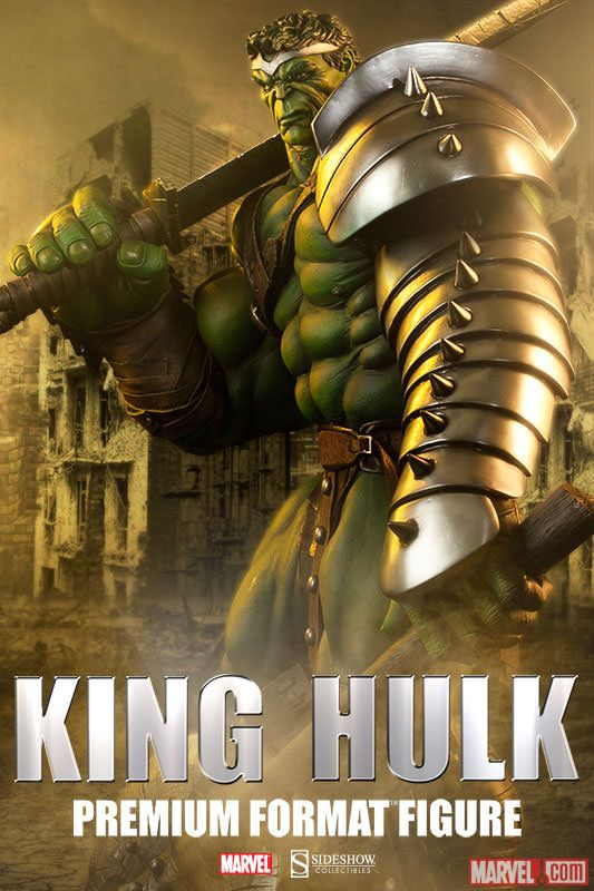 sideshow-collectibles-reveals-king-hulk-premium-format-figure