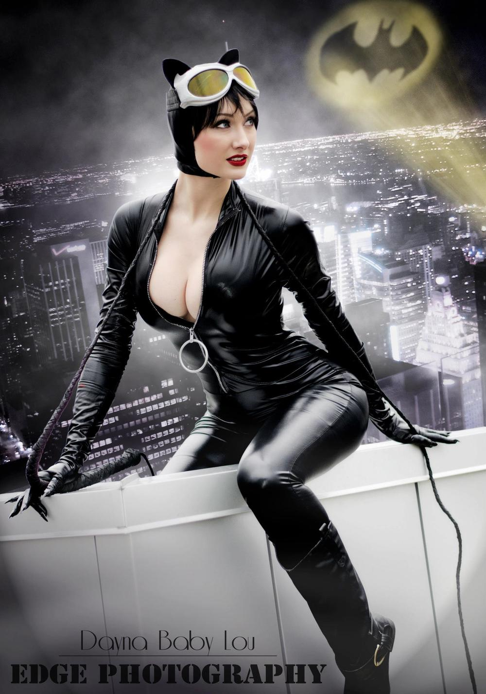Dayna Baby Lou  is Catwoman — Photo by  Edge Photography