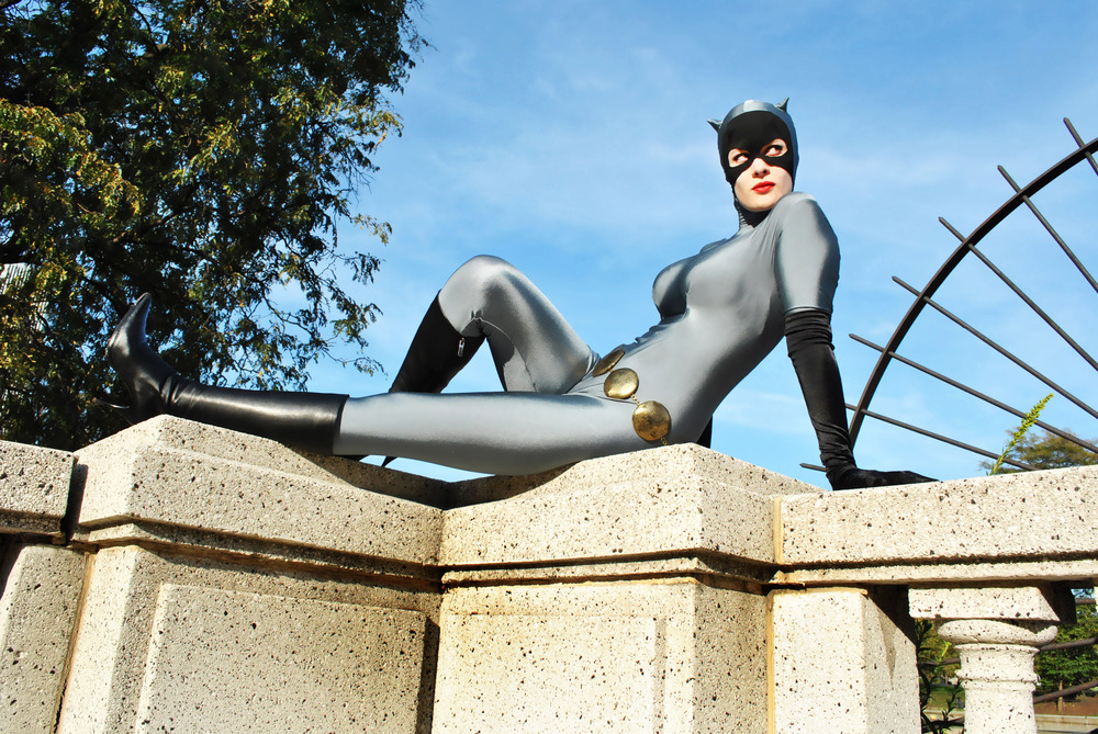 Mary Colette  is Catwoman — Photo by Tino Caceres of  Scorpio Concept Designs