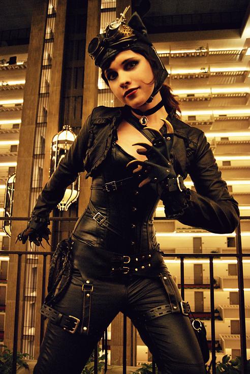 Rachel Bowman  is Catwoman