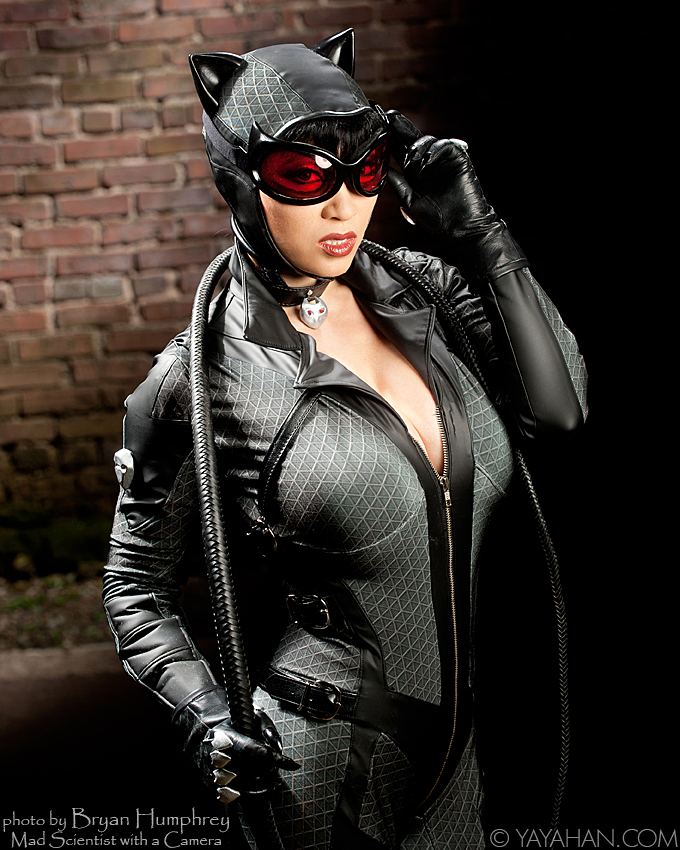 Yaya Han  is Catwoman — Photo by  Bryan Humphrey : Mad Scientist with a Camera