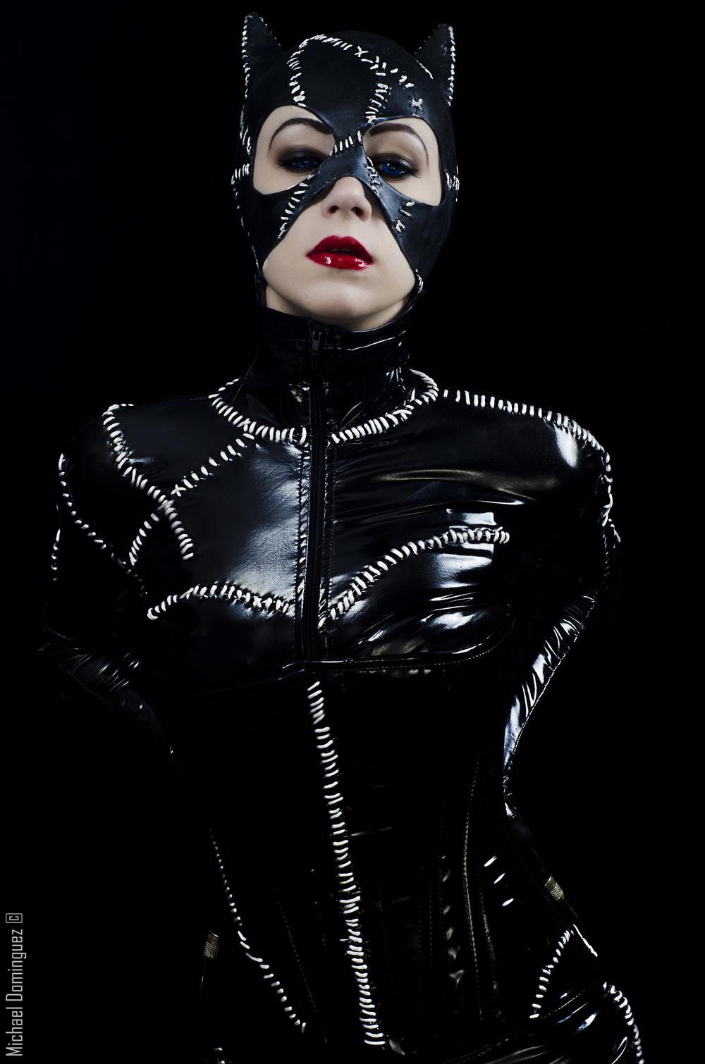 Velvet Neko Cosplay  is Catwoman — Photo by  Dominguez Michael