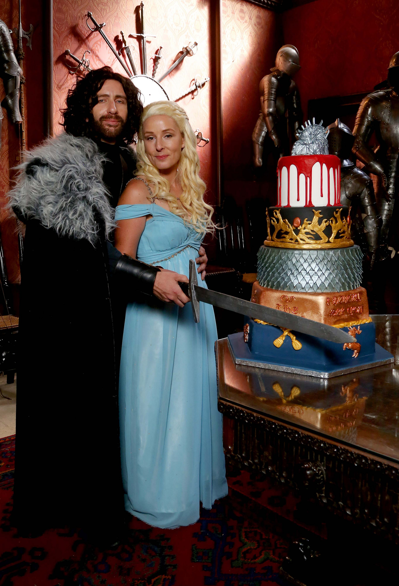 Epic Game Of Thrones Themed Wedding Geektyrant