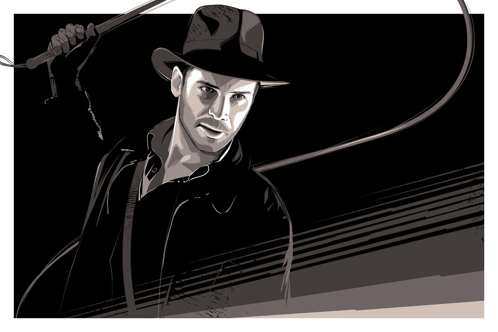 indiana-jones-and-elctra-art-by-craig-drake