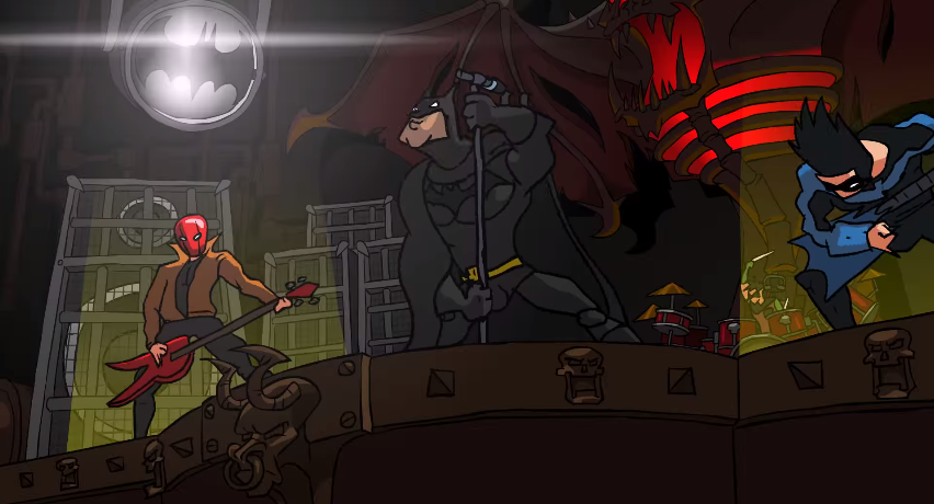 batman-animated-heavy-metal-music-video-face-fisted