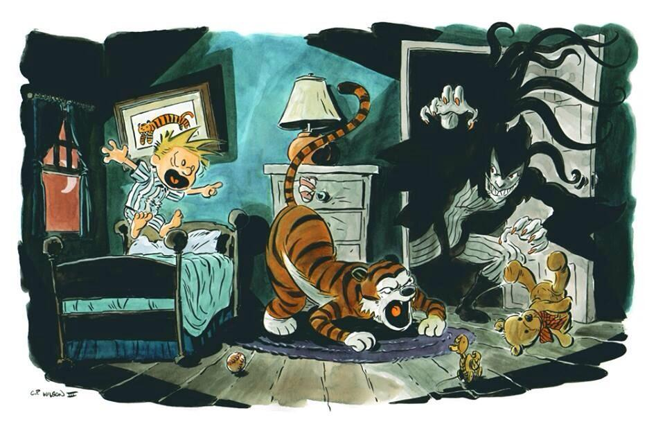 calvin-hobbes-vs-the-closet-monster-fan-art