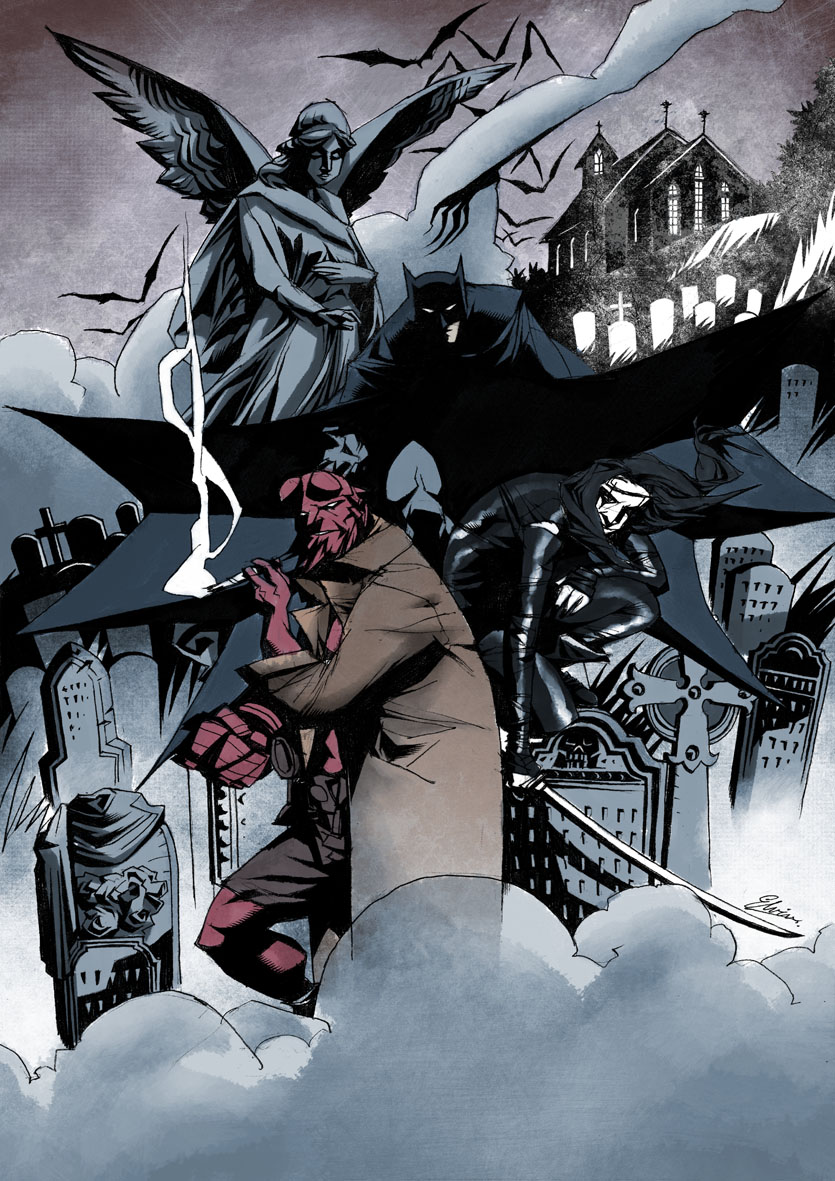 heroes-of-the-night-art-featuring-batman-hellboy-and-the-crow