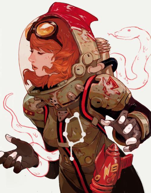 retro-futurism-space-girl-art-from-sachin-teng