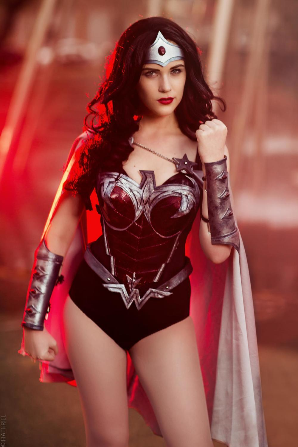 Eve Beauregard is Wonder Woman — Photo by Rachel Lewis Photography
