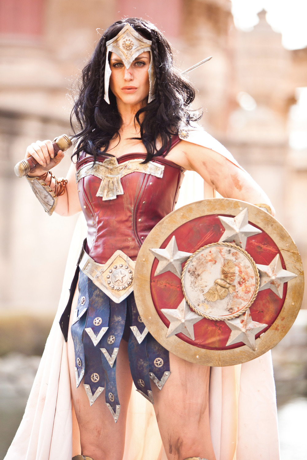 Meagan Marie is Wonder Woman — Photo by Andrew Ho