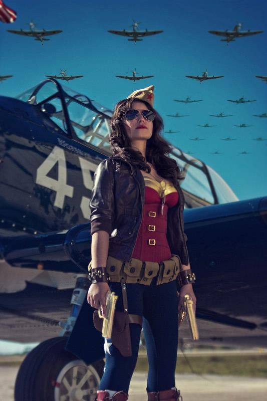 Jessica LG is Wonder Woman — Photo by Visual Vortex