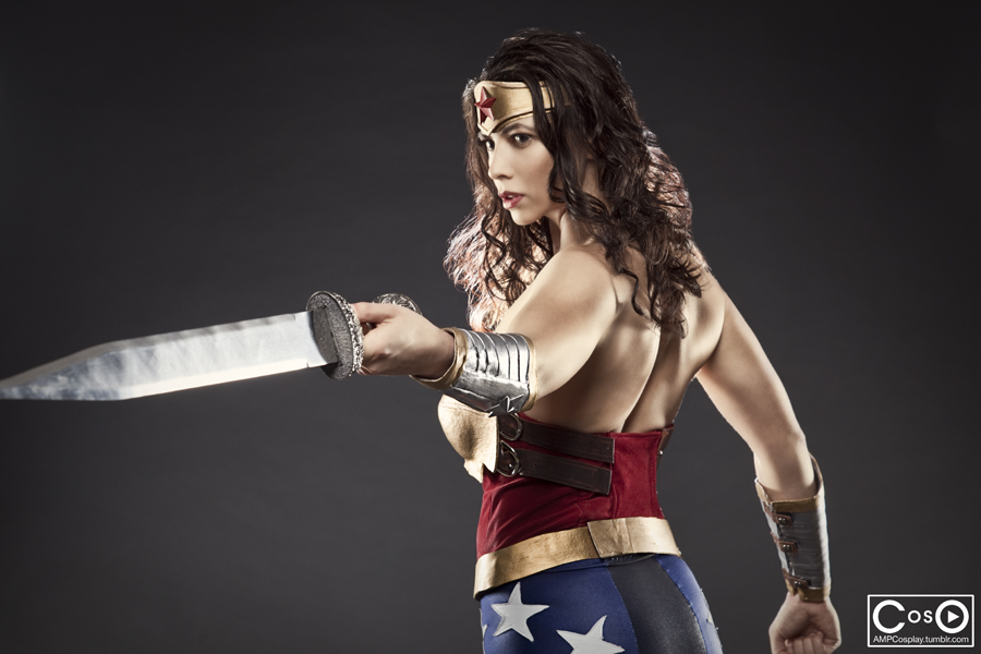 Margie Cox is Wonder Woman — Photo  by Moshunman