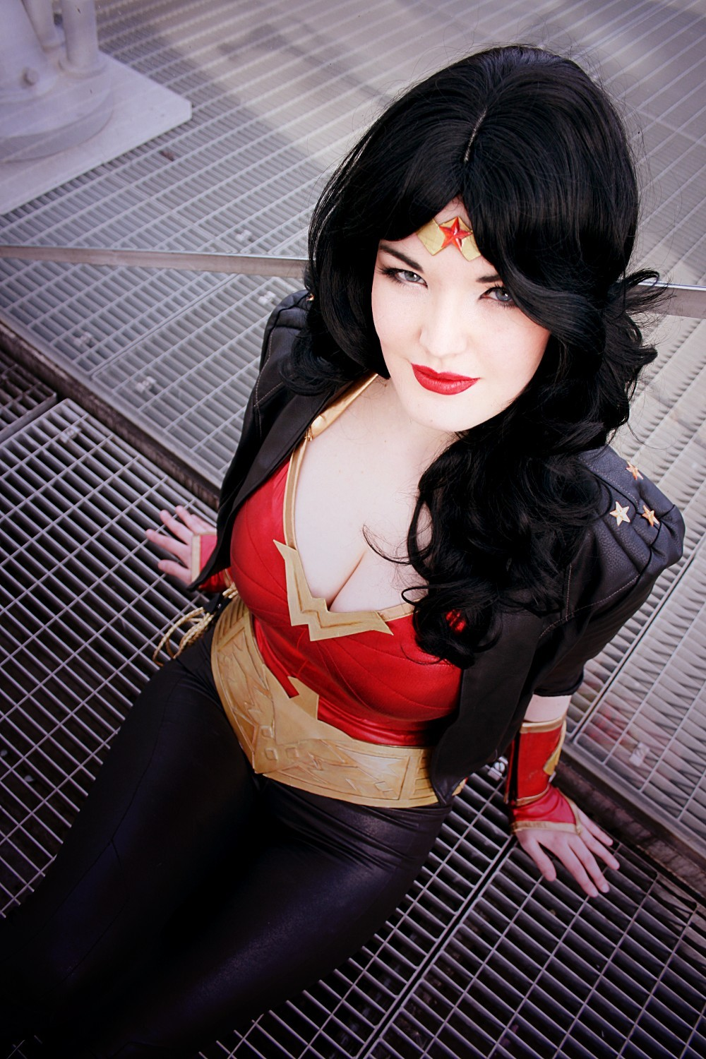 Y-o-s-s-i is Wonder Woman — Photo by Aco Photo