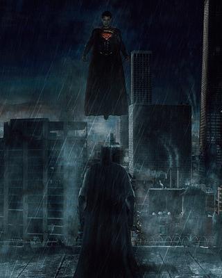 BATMAN V SUPERMAN DAWN OF JUSTICE Fan Poster