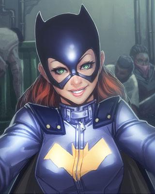 Batgirl Fan Art Inspired By Her New Look Geektyrant