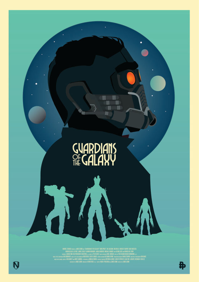 GUARDIANS OF THE GALAXY Poster to be Given to Marvel Panel Attendees