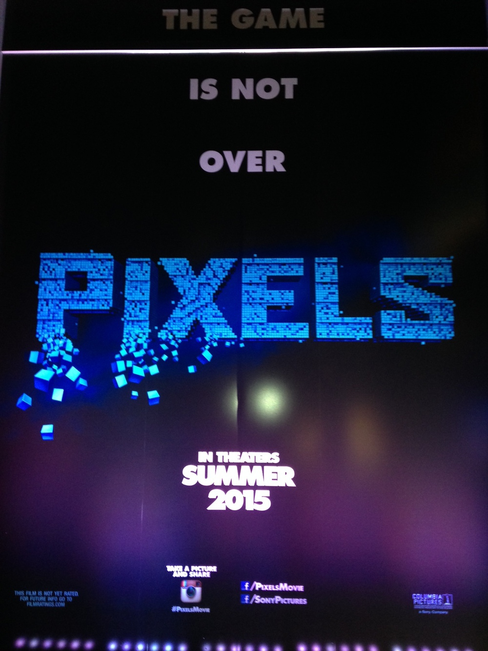 PIXELS Movie Poster Art - SDCC 2014 — GeekTyrant