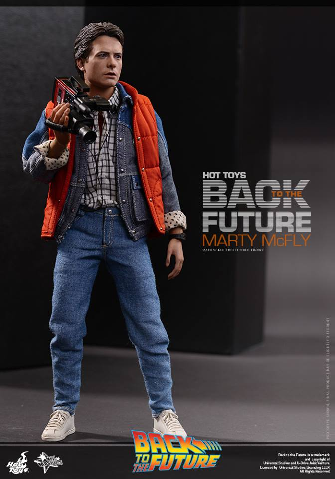 Hot Toys Back To The Future Collectible Action Figure