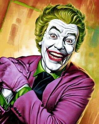 Mondo S 1960s Batman Series Inspired Joker Art Geektyrant