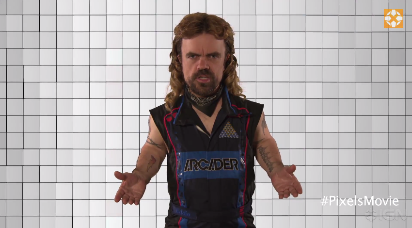 mullet-head-peter-dinklage-introduces-pixels-bts-footage1