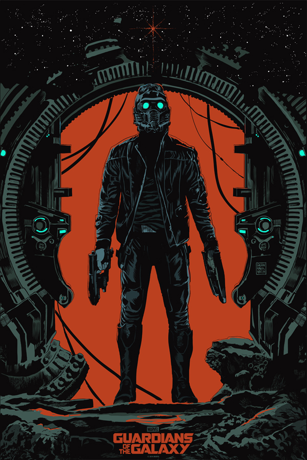 IGN Mondo Has Unveiled A New Poster For Guardians Of The Galaxy Featuring Star Lord