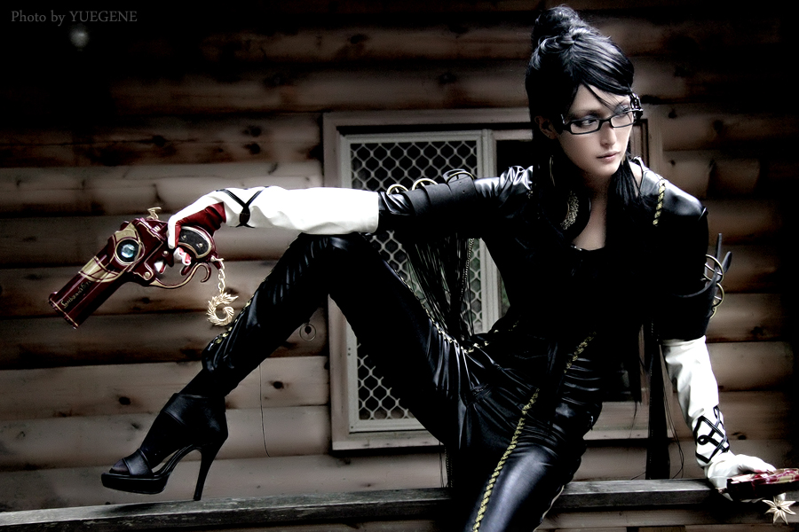 Yuna is Bayonetta | Photo by: Yuegene