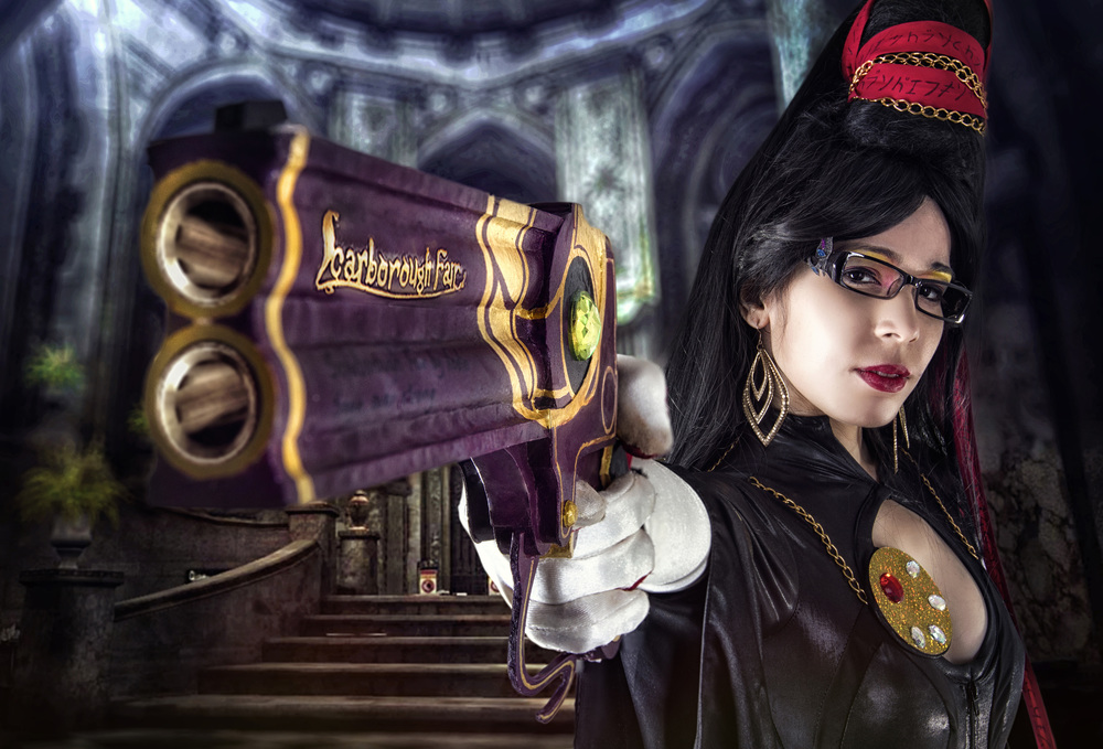 Carolina Angulo is Bayonetta | Photo by: Ramon Cabrera