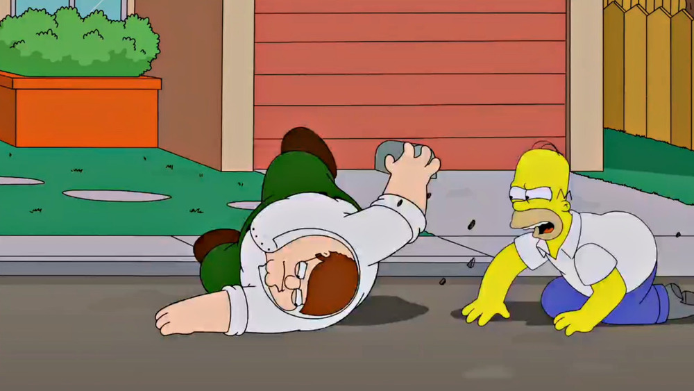 Watch 5-Minutes of THE SIMPSONS and FAMILY GUY Crossover
