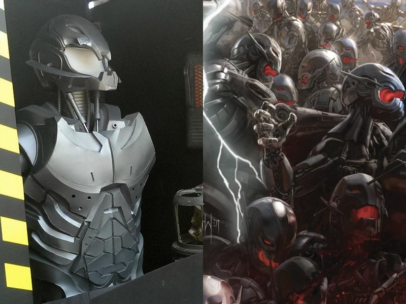 Avengers Age Of Ultron Drone Prop Photo Geektyrant