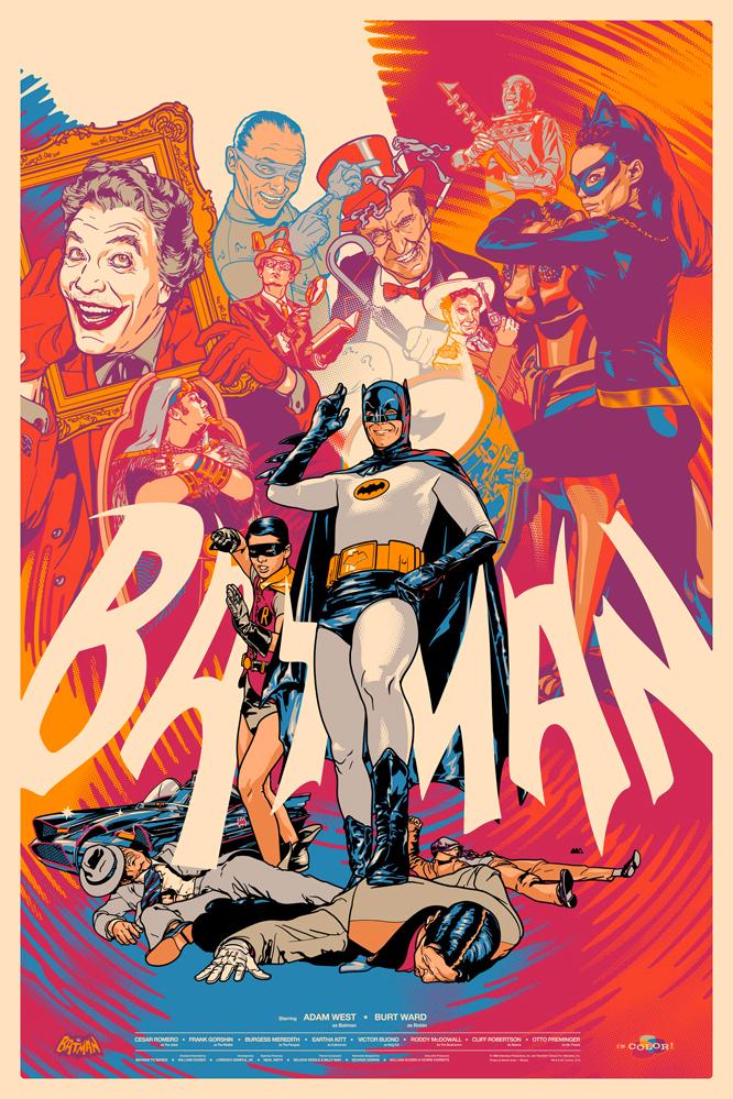 Batman 66 And Batman The Animated Series Mondo Posters Geektyrant