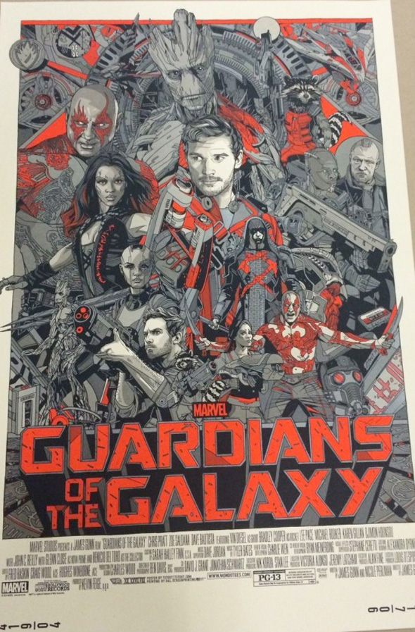 Guardians of the Galaxy by Tyler Stout