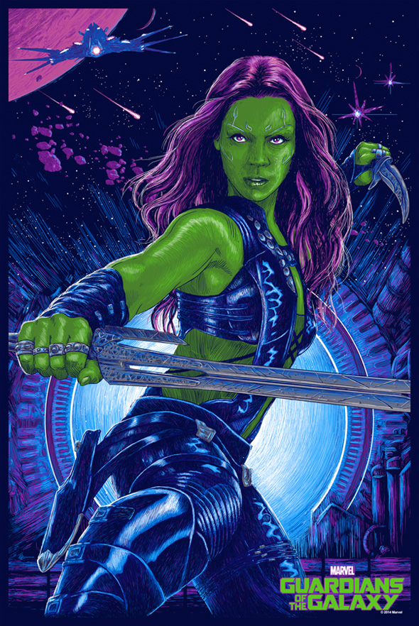 Gamora by Vance Kelly