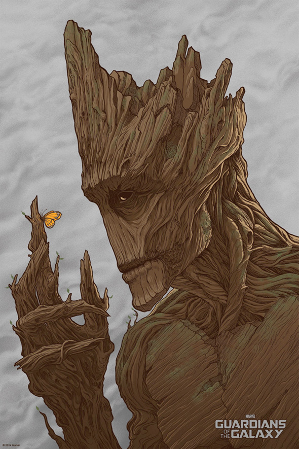 Groot by Randy Ortiz