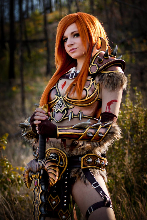 DIABLO 3 Barbarian Cosplay by Andy Rae