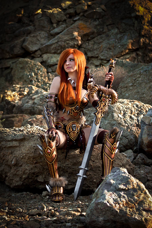DIABLO 3 Barbarian Cosplay by Andy Rae1