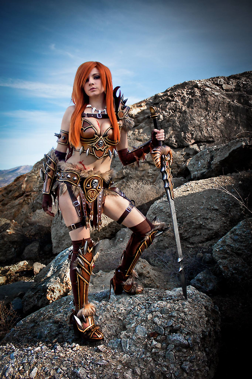 DIABLO 3 Barbarian Cosplay by Andy Rae2