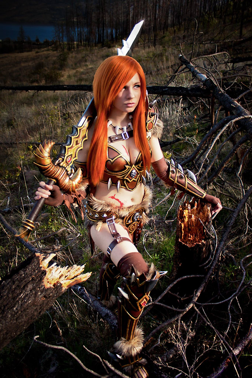 DIABLO 3 Barbarian Cosplay by Andy Rae3