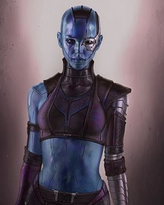 Gotg Nebula Plus Fan Art - Pics about space
