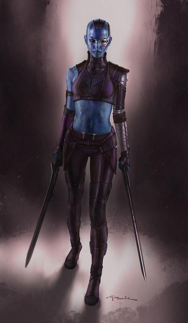 Alternate Nebula Costume Design for GUARDIANS OF THE ...
