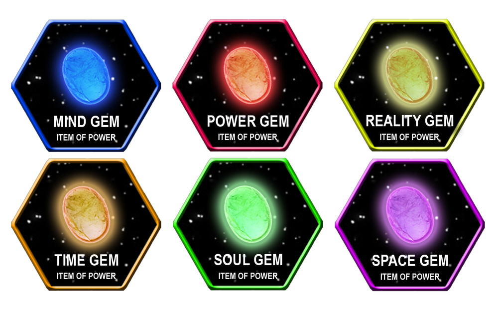 Fan s opinion of the infinity gems used in the marvel universe