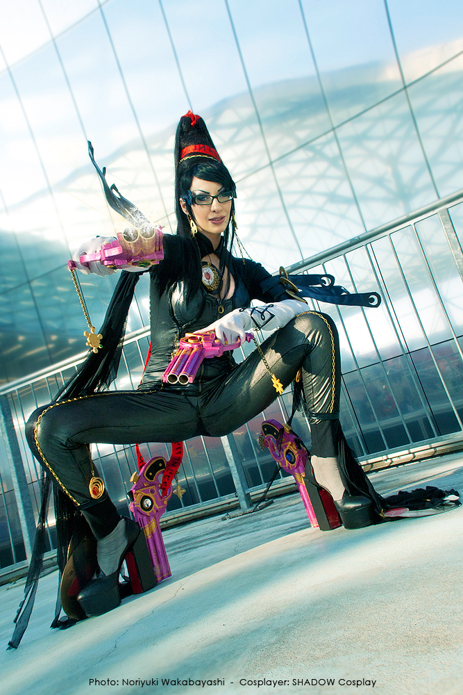 Daelyth is Bayonetta | Photo by: Noriyuki Wakabayashi