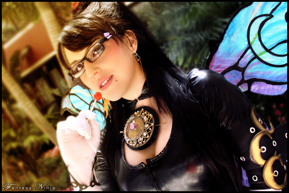 Fantasy Ninja is Bayonetta | Photo by: Hooded Woman