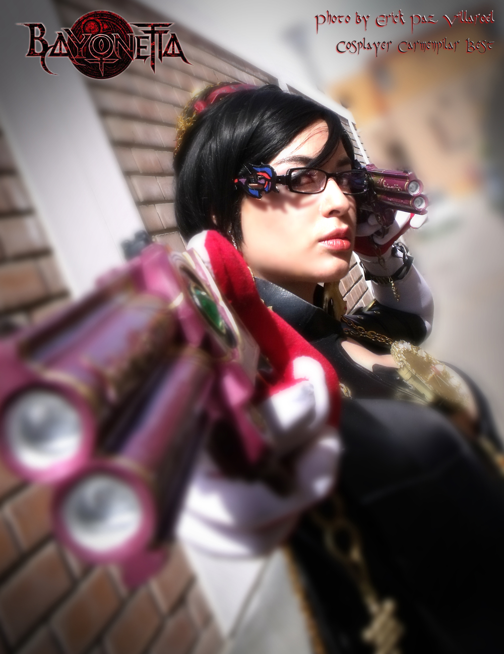 Dark Tifa Strife is Bayonetta | Photo by: Erick Paz Villaroel