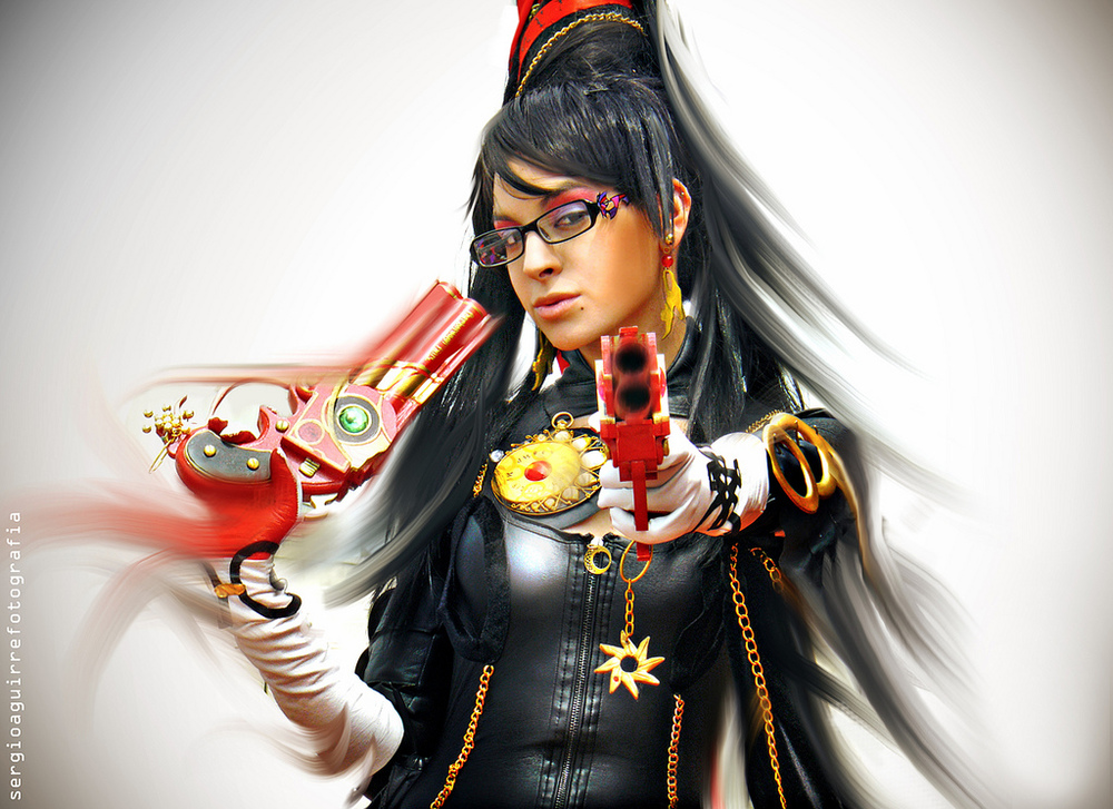SandySuicide is Bayonetta | Photo by: Sergio Aguirre