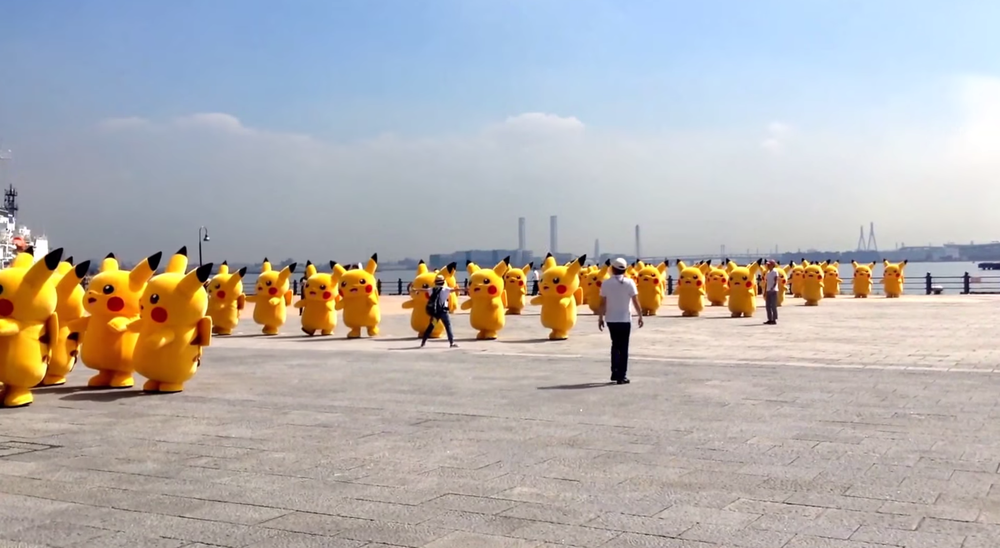 why-is-an-army-of-pikachu-pokemon-forming-in-the-video