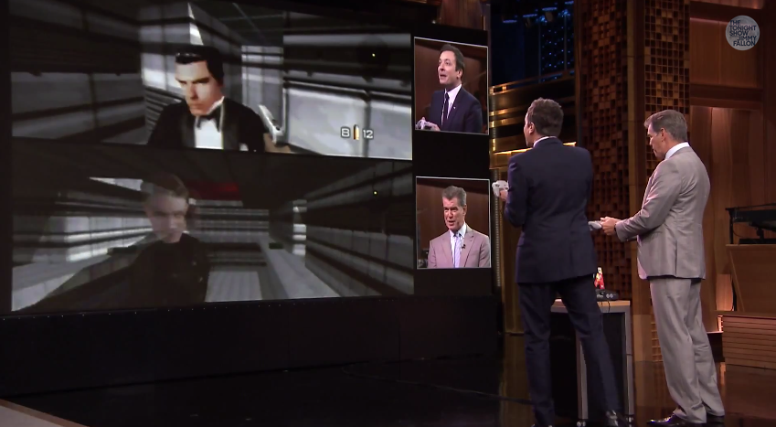 pierce-brosnan-plays-goldeneye-007-on-n64-with-jimmy-fallon